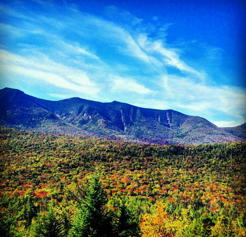 White Mountains in NH