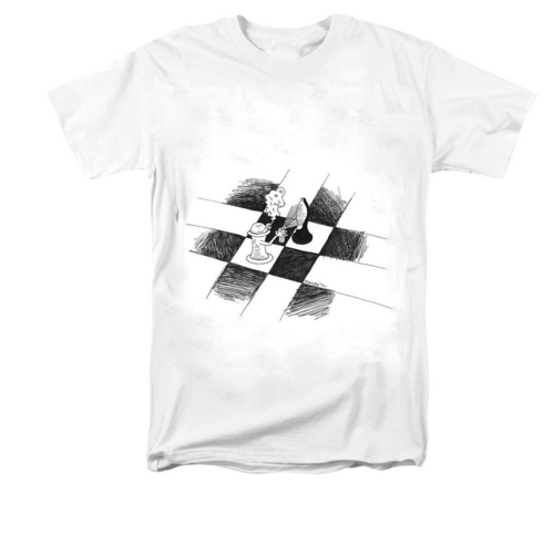 chess art shirt