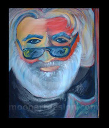 jerry garcia - grateful dead painting