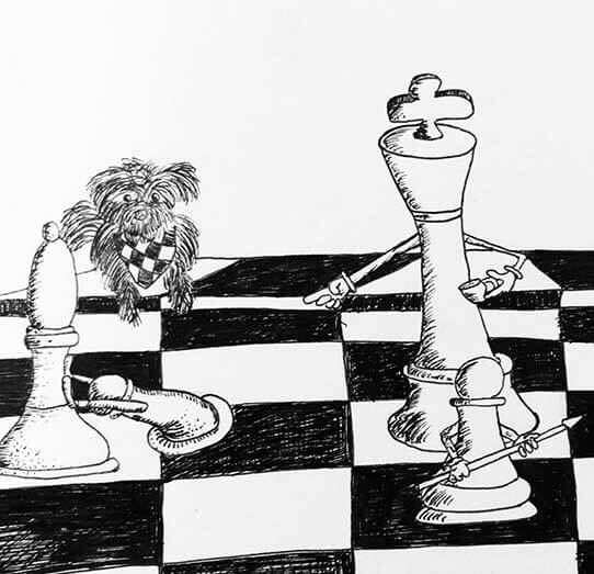 chess art by mimo art